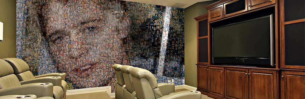 Photo Mosaic Mural