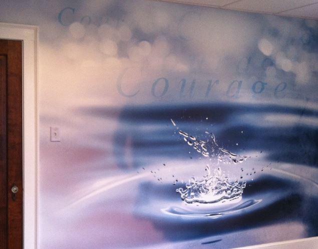 graititude photo mural