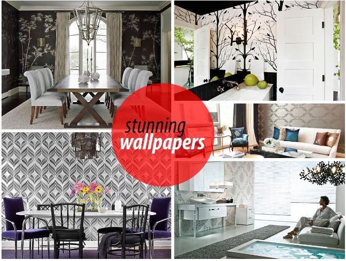 wallpaper ideas, stunning wallpapers, decoist, the decoist, custom wallpaper, interior design, design inspiration