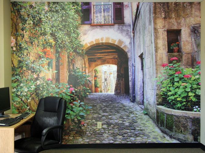 Italian Villa Custom Mural
