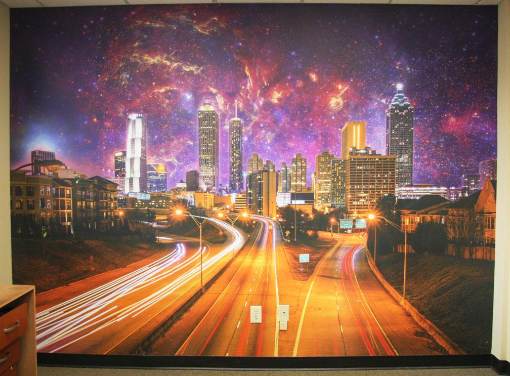 Photo Mural Atlanta Stars