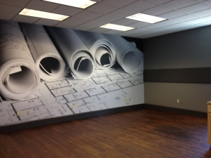 commercial photo mural