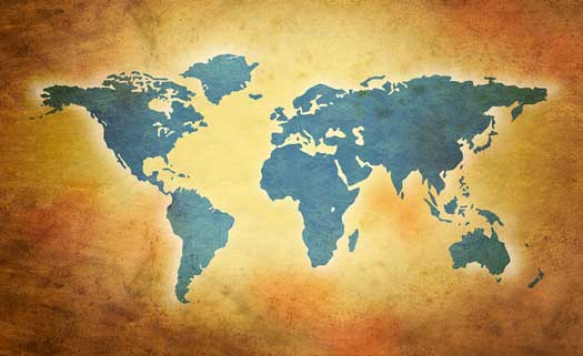 Design World Map on