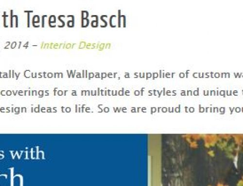 Totally Custom Wallpaper – Designer Insights Feature