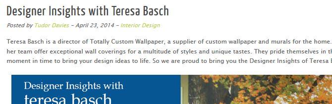 custom wallpaper interview