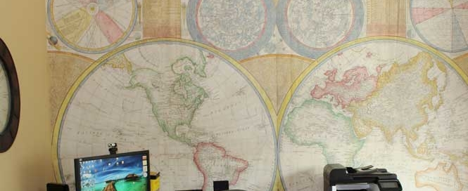 world-map-mural