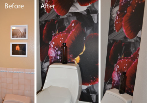 flower-photo-mural trend 2014