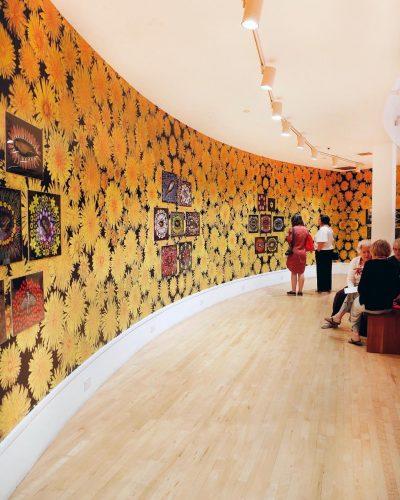 Art Gallery Wallpaper, Museum Gallery Custom Wallpaper, Commercial Wallpaper, Commercial Mural, Floral Wallpaper