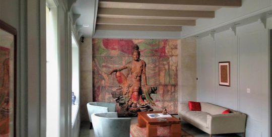 Bohemian Art Mural, Artist Loft Mural, Abstract Mural, Colorful Mural, Custom Abstract Mural, Pink Mural, Custom Residential Mural, Custom Art Mural,