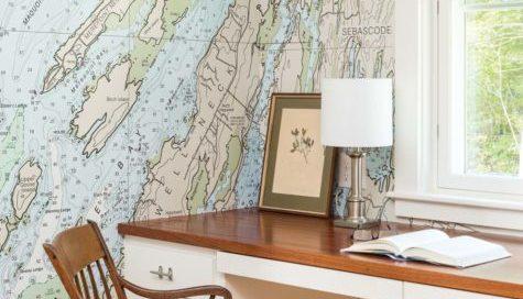 custom residential wallpaper, custom wallpaper, custom map wallpaper, world map wallpaper,