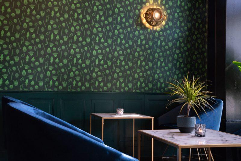 Commercial Wallpaper, Custom Commercial Wallpaper, Restaurant Wallpaper, Custom Restaurant Wallpaper