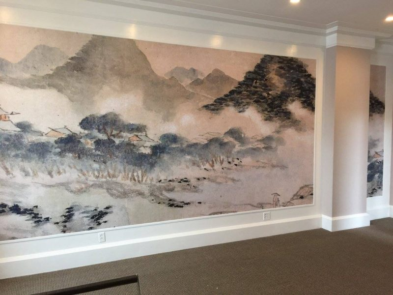 commercial photo mural, commercial wallpaper, custom commercial murals, custom commercial wallpaper
