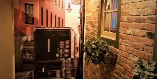italian alleyway photo