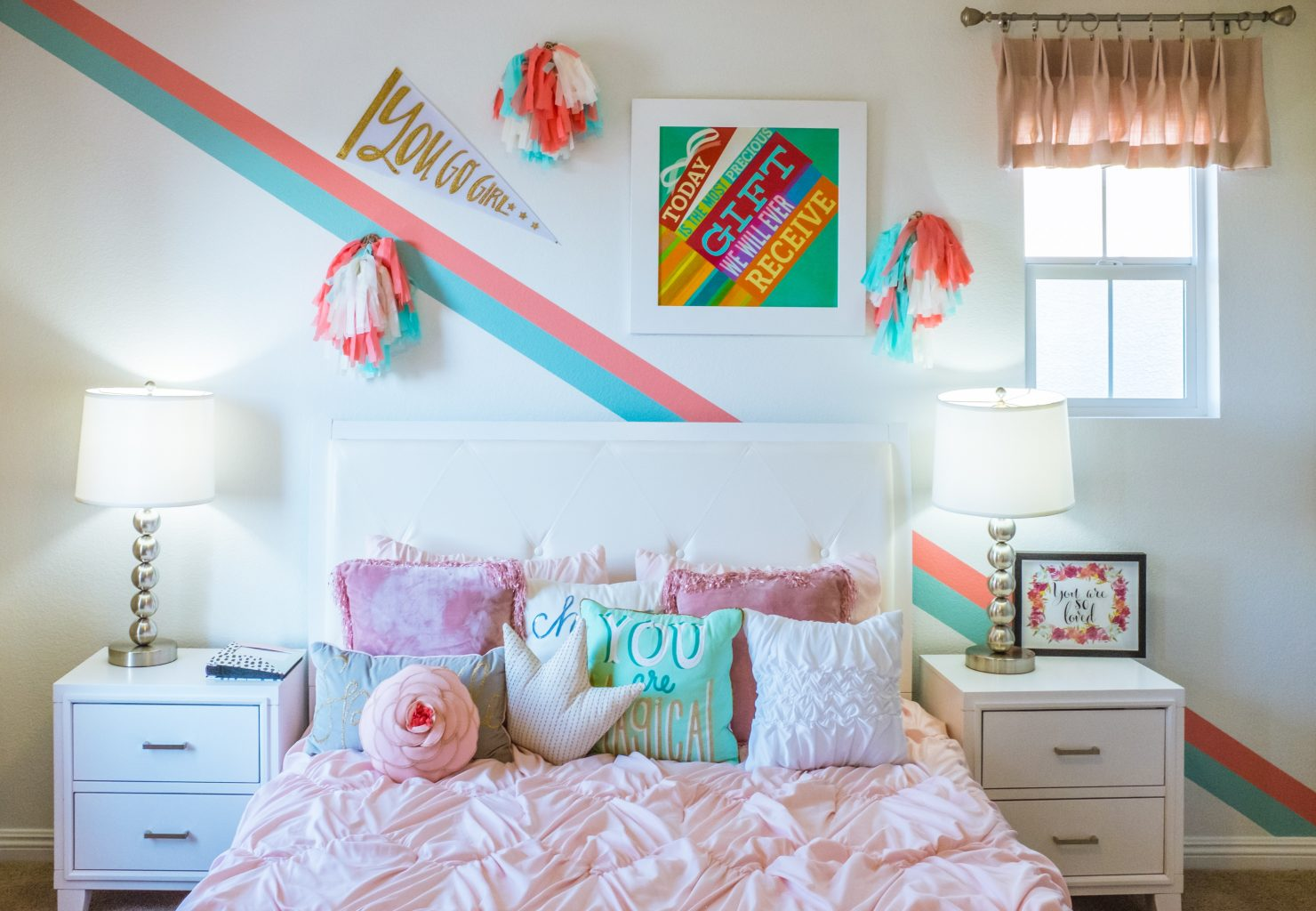 Colorful Stripe Wall Decal