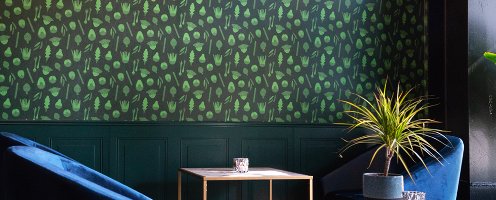 Restaurant Wallpaper Slider